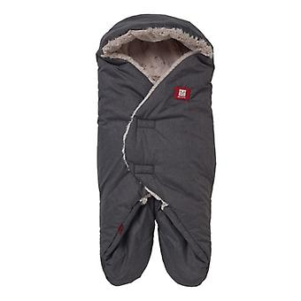 Red Castle Tenderness Babynomade Blanket Grey 6 to 12 Months