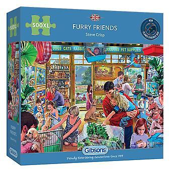Gibsons 500XL Piece Furry Friends Jigsaw Puzzle