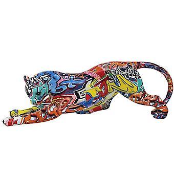 Graffiti Cheetah By Figurine Lesser & Pavey