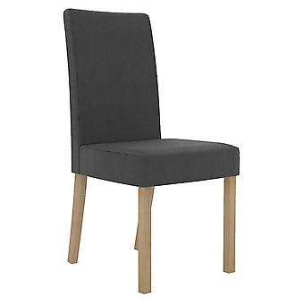 Medlly Chair Charcoal (Pack Of 2)