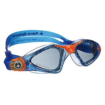 Aqua Sphere Kayenne Junior Goggle - røg linse - blå/Orange
