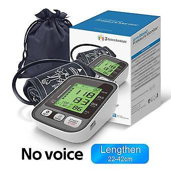 Digital arm blood pressure monitor medical lcd screen electric automatic digital heart rate pr tonometer sphygmomanometer