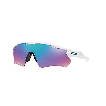 Oakley Radar EV Path OO9208 47 Polished White/Prizm Sapphire Snow Sunglasses