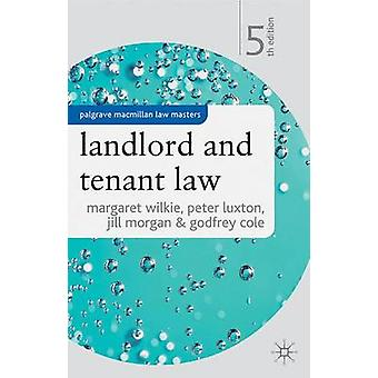 マーガレット・ウィルキーによる家主とテナント法 - 9781403917546 書籍