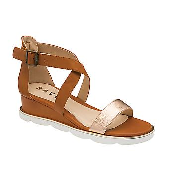 Ravel Junee Wedge Sandals for Women and Girls  - Tan