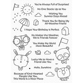 My Favorite Things Weather With You Clear Stamps