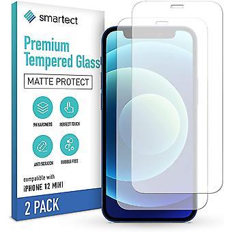 HaiFei HaiFei Schutzglas kompatibel mit Apple iPhone 12 mini [2x MATT] - Gehärtetes Glas mit 9H Hrte