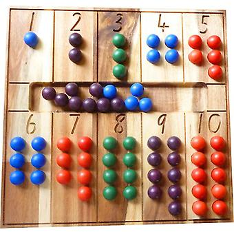 Qtoys Australia (usa) Natural Counting Board