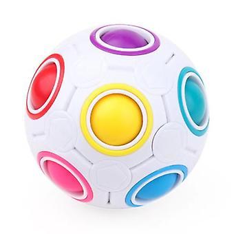 Rainbow Ball Rubik's Cube Kinder educatief speelgoed, Puzzel Rubik's Cube Decompressie Speelgoed