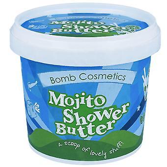 Bombe Kosmetikk Rensing Dusj Smør - Mojito