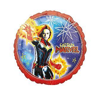 Ballon aluminium Captain Marvel 43 cm