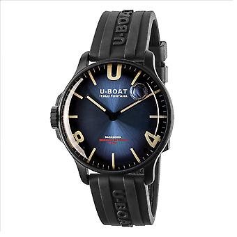 U-Boat 8700 Darkmoon 44 Blue IPB Soliel Wristwatch