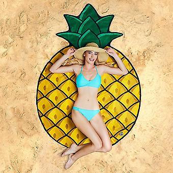 Bigmouth gigantic pineapple beach blanket