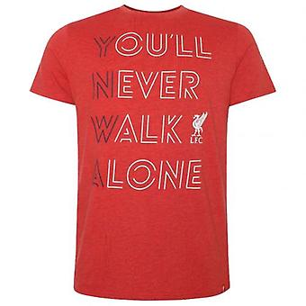 Liverpool YNWA T Shirt Mens Red M