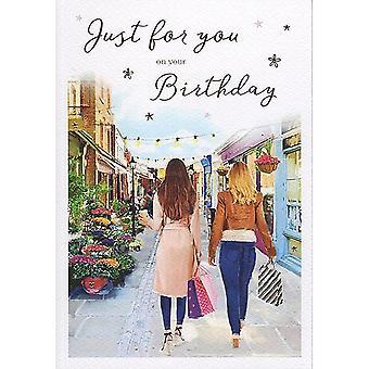 ICG Ltd Open Birthday Card Essence Range - Shopping