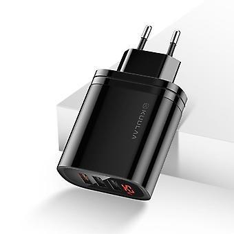 3.0 Usb 30w Qc3.0 Qc gyorstöltés többcsatlakozásos tablet töltő