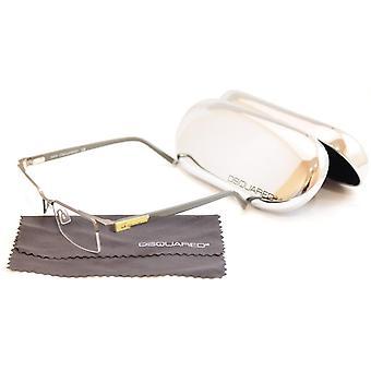 Dsquared2 Eyeglasses Frame DQ5069 015 Gray Plastic Metal High Quality 53-18-140