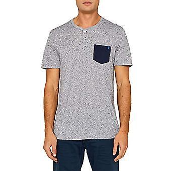 edc by Esprit 059cc2k013 T-Shirt, Blue (Navy 400), Small Man