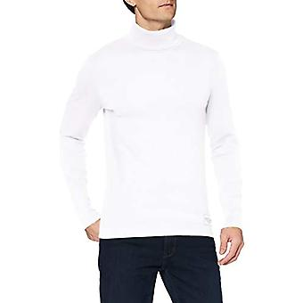 Tom Tailor Basic Rib T-Shirt, 20000-white, XXL Men's