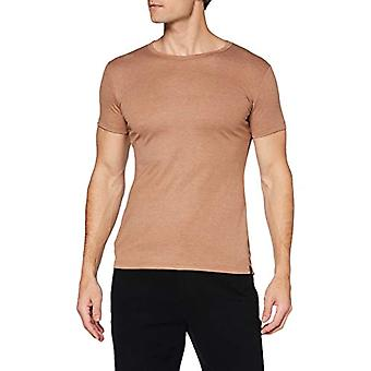 Trigema 602201 T-Shirt, Walnut Melange, L Uomo