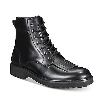 INC International Concepts Mens Brix Kiltie Leather Boots