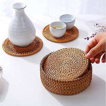 Dining table mat heat insulation teacup  western-style place mats