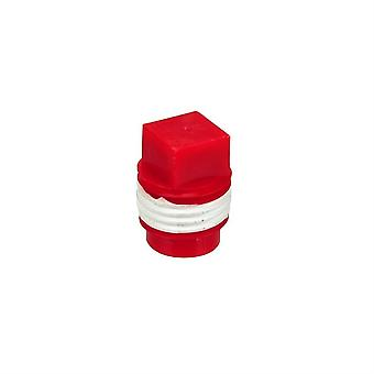 Blue-White F-3005 Red Cap Plug for all F-300, D-300 and U-300