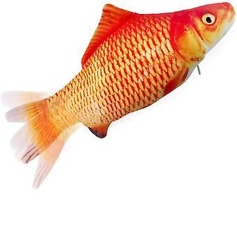 Interaktív macska játék csínytevés hal narancs