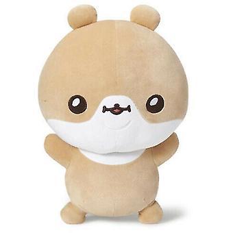 Brown cute doll sleeping pillow doll girl super cute plush toy doll super soft x3674