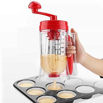 Manual Cupcakes Pancakes Batter Dispenser