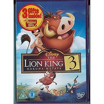The Lion King 3: Hakuna Matata DVD