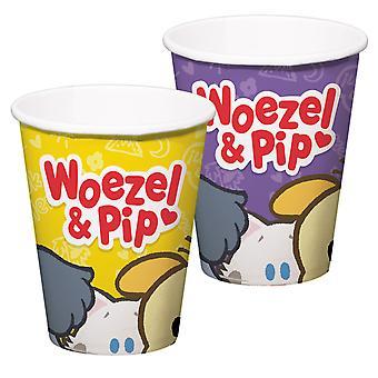 Wehe & Amp; Pip Tassen, 8Pc.