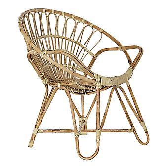 Chaise de jardin DKD Home Decor Rotin (76 x 46 x 81 cm)