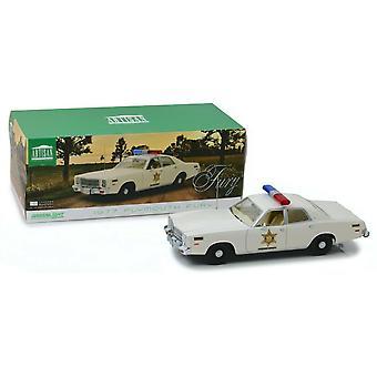 Dukes of Hazzard 1975 Dodge Coronet Sheriff 1:18 Échelle Greenlight 19092