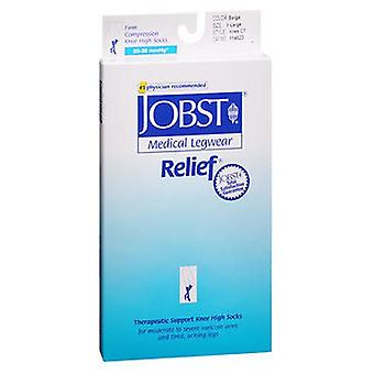 Jobst Jobst Medical Legwear Close-Toe Knee High Support Stockings Beige, Extra Large each