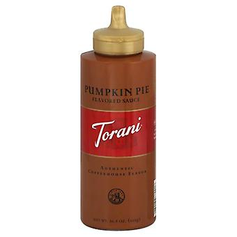 Torani Puremade Pumpkin Pie Sauce, Case of 4 X 16.5 Oz
