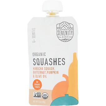 Serenity Kids Food Baby Squashes Org, Case of 6 X 3.5 Oz