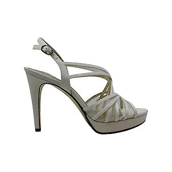 Adrianna Papell Women's Shoes ADRI Satin Open Toe Casual Slingback Sandals