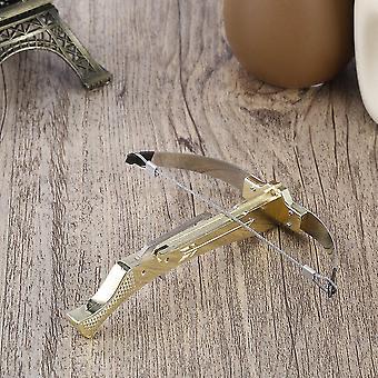 Kinderen Kid Mini roestvrij staal tandenstoker kruisboog schieten speelgoed beste cadeau