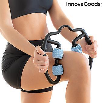 Auto masajeador para músculos con rodillos Rolax InnovaGoods