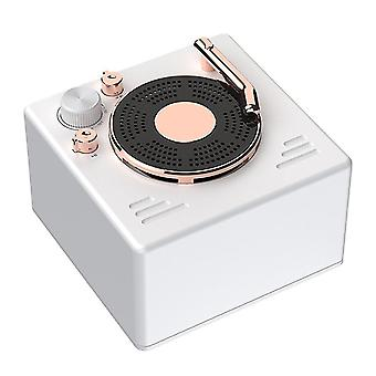 Mini Bluetooth Lautsprecher drahtlose tragbare kleine Lautsprecher (Weiß)