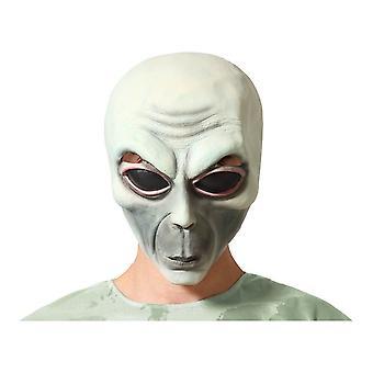 Mask Halloween Green Alien