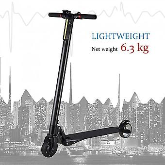 Ultra Light Carbon Fiber Portable Foldable Electric Scooter With Two Wheels