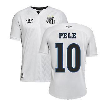 2020-2021 Santos Home Shirt (PELE 10)