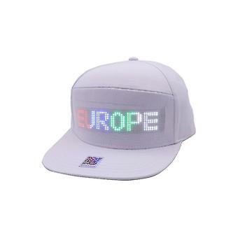 Bluetooth led hattu 12 * 48 suurempi koko baseball lippis