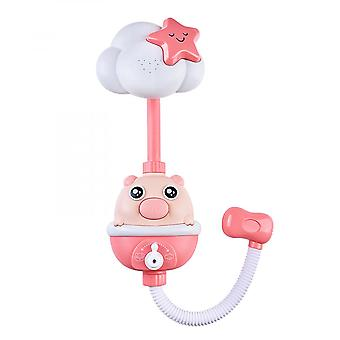 Baby Bath Toys Water Game  Faucet Electric Shower Spray Kids Bathroom
