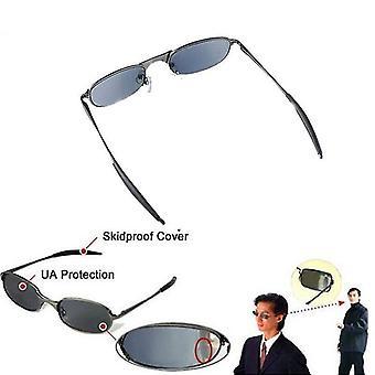 High Tech Anti-tracking Rear View Sun Glass Behind Monitor Mirror Glasses