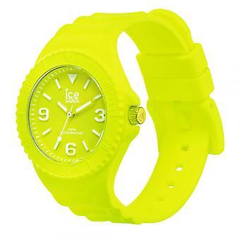 Mixed watch Ice Watch Ice generatie horloges - Flitsend geel - Medium - 3H 019161 - Gele Siliconen Band
