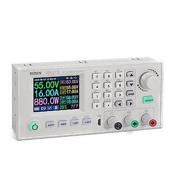 Rd6018 18a Állandó feszültségű és állandó áramú egyenáramú tápegység modul billentyűzet pc szoftvervezérlő voltmérő