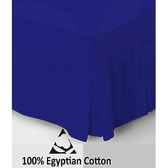 Egyptian Cotton 4 Foot Fitted Valance Sheet 200 Thread Bed Sheets